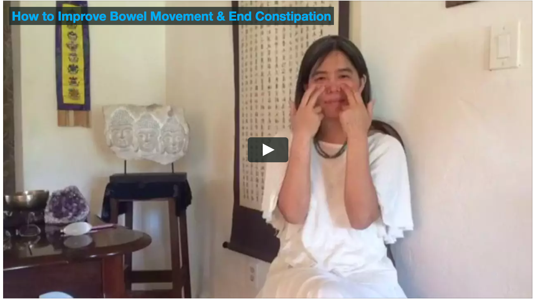 How to end constipation & improve your bowel movements in 5 minutes a day