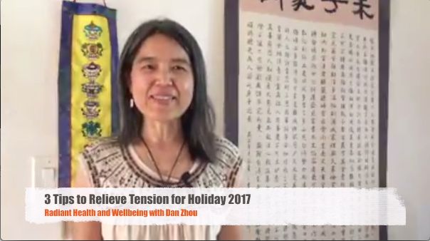 3 Tips to Relieve Stress or Tension for Holiday 2017