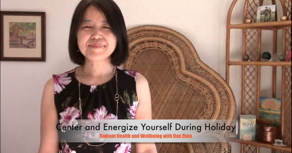 How to Center and Energize Yourself During Holiday Season