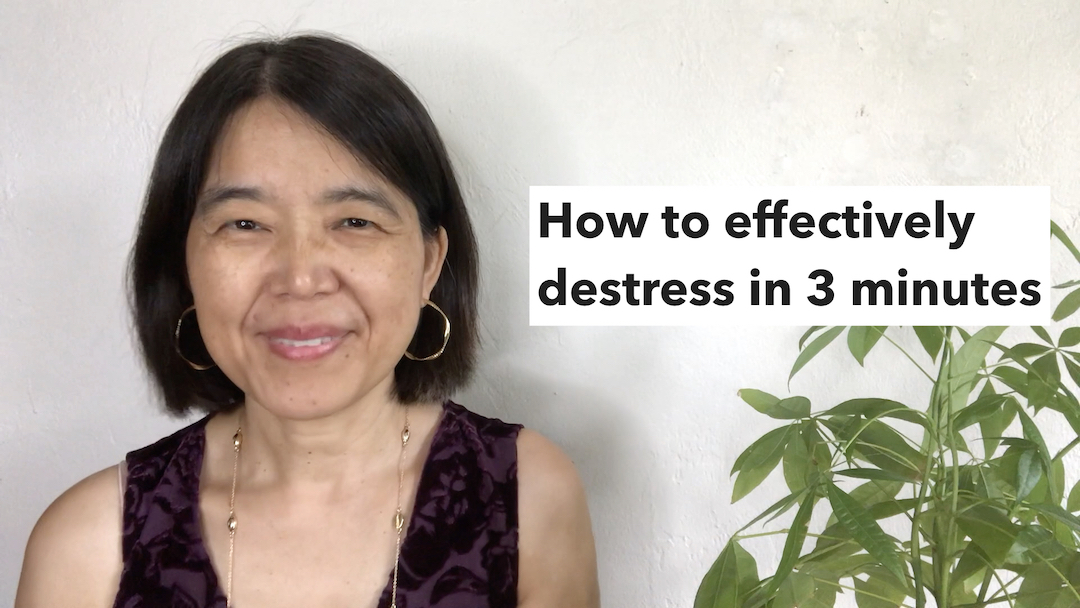 How to effectively de-stress in 3 minutes