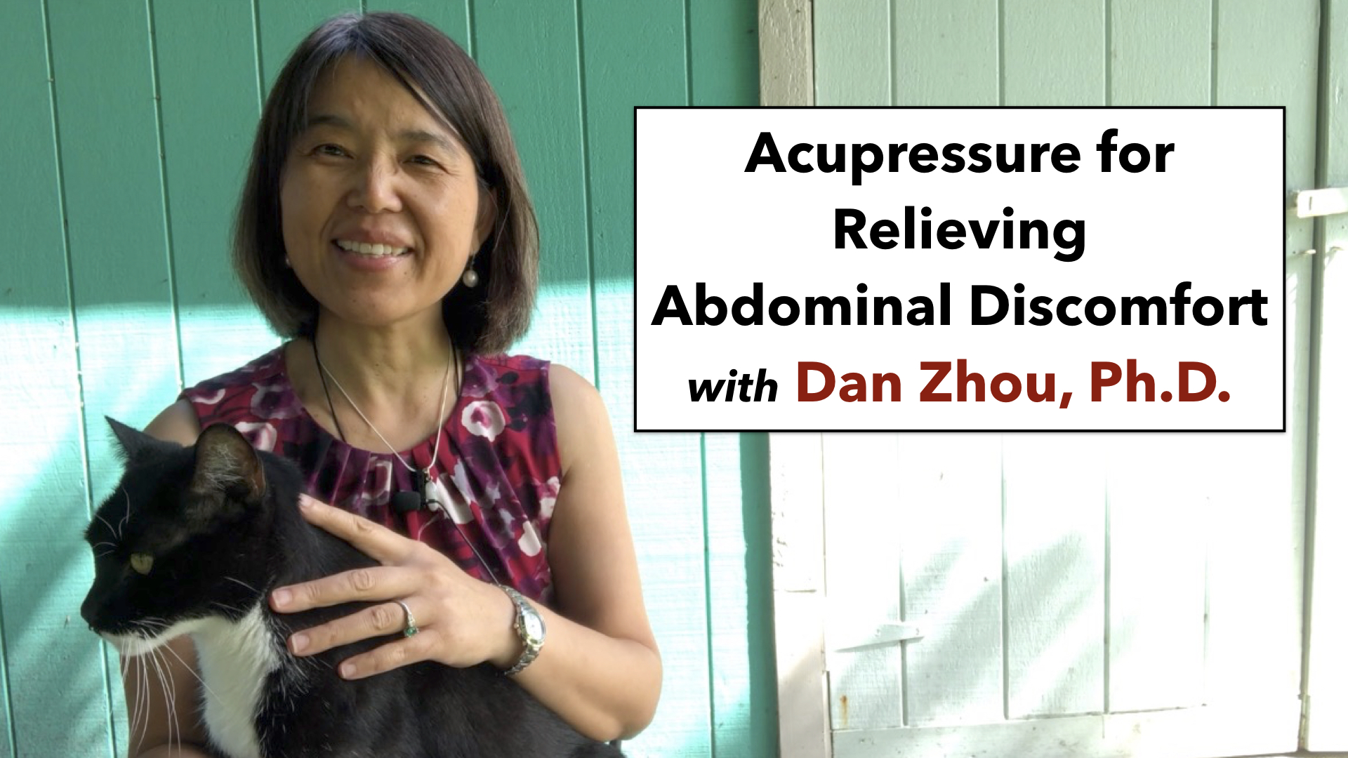 How to sooth abdominal discomfort with acupressure
